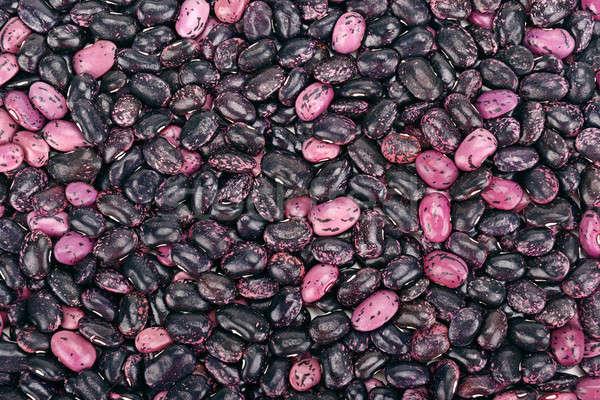 Nier bonen heldere rijp voedsel groep Stockfoto © alinamd