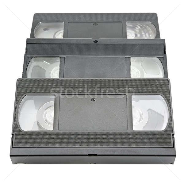 videotape  isolated on white Stock photo © alinamd