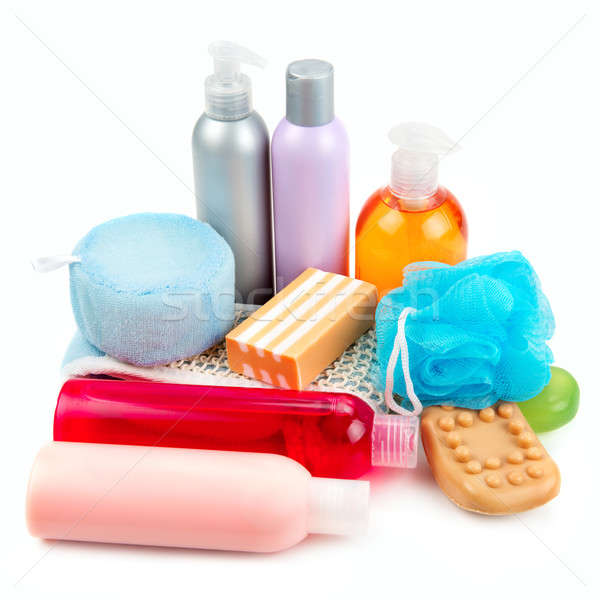 set of toiletries for bathing Stock photo © alinamd