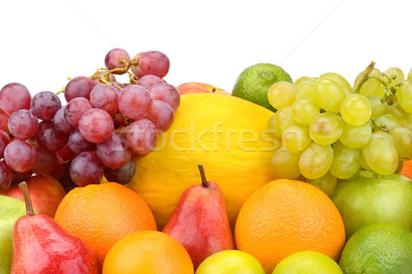 set of fruits  Stock photo © alinamd