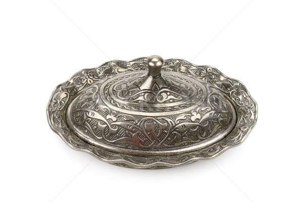 sugar bowl isolated on a white background Stock photo © alinamd