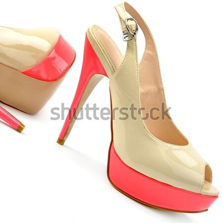 fashion shoes Stock photo © alinamd