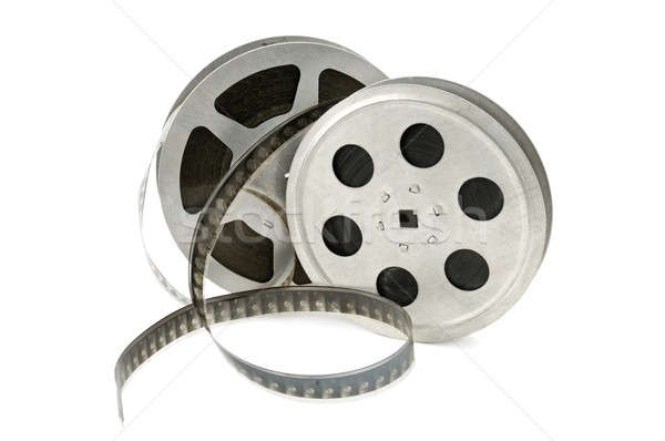 Filmstrip geïsoleerd witte film frame film Stockfoto © alinamd