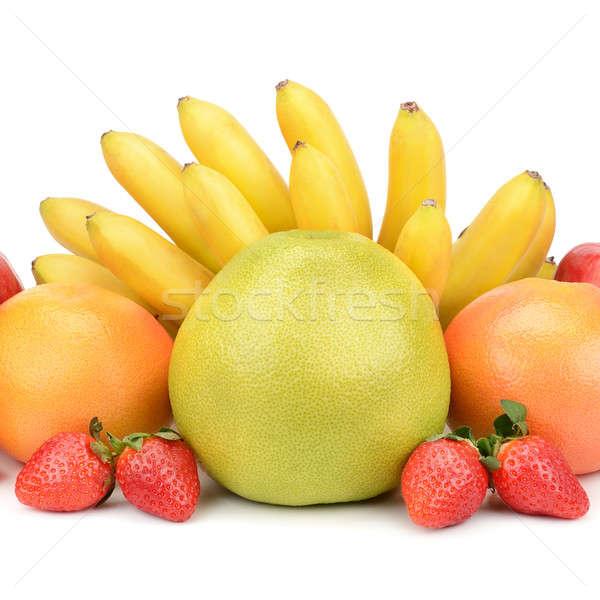 fruit set isolated on a white background Stock photo © alinamd