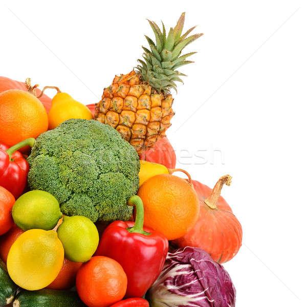 果物 野菜 孤立した 白 背景 オレンジ ストックフォト © alinamd