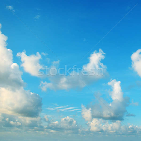cumulus clouds in the blue sky Stock photo © alinamd