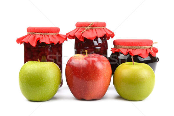 apples and  jam Stock photo © alinamd