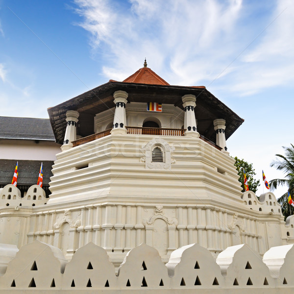 Buddhist Temple of the Tooth Relic (Sri Lanka, Kandy) Stock photo © alinamd