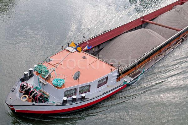 Barge with cargo  Stock photo © alinamd