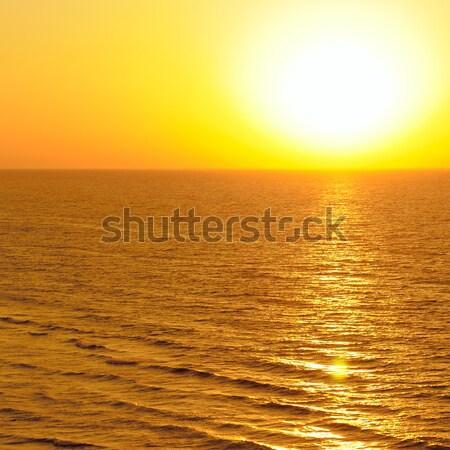 Fantastico sunrise Ocean acqua primavera sole Foto d'archivio © alinamd