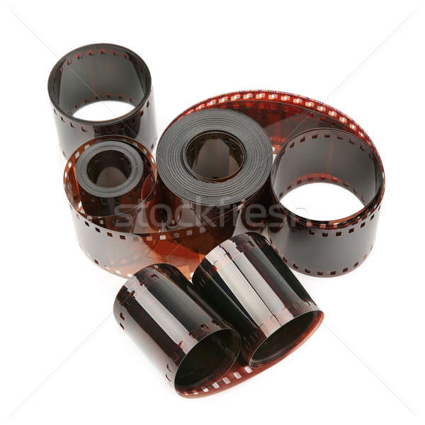 photographic film isolated on white background Stock photo © alinamd