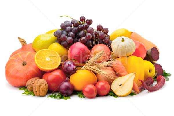 Owoce warzyw odizolowany biały jabłko owoców Zdjęcia stock © alinamd