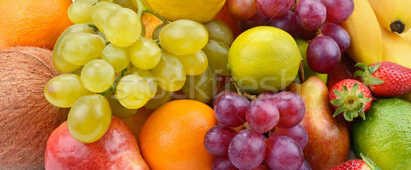 background from the collection of fruit Stock photo © alinamd