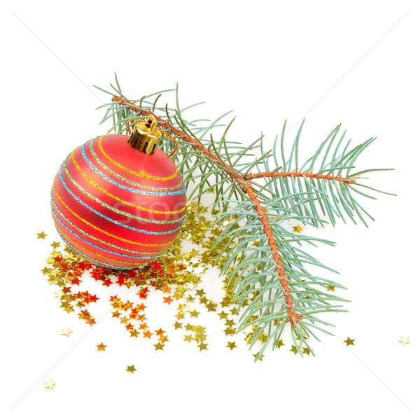 Christmas decoration isolated on white background Stock photo © alinamd
