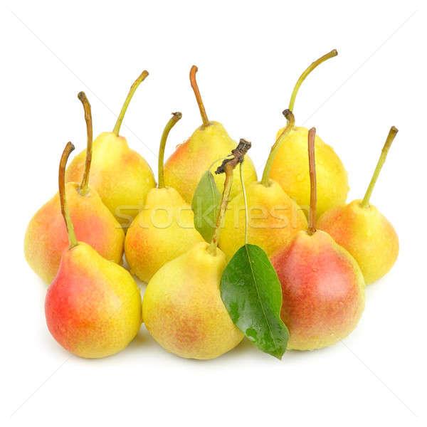 梨 孤立した 白 食欲をそそる 食品 自然 ストックフォト © alinamd