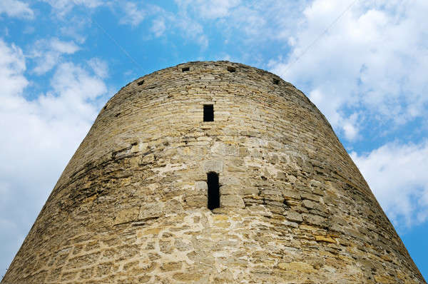 old fortress tower Stock photo © alinamd