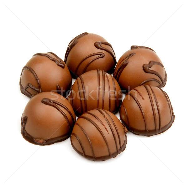 chocolate candy Stock photo © alinamd