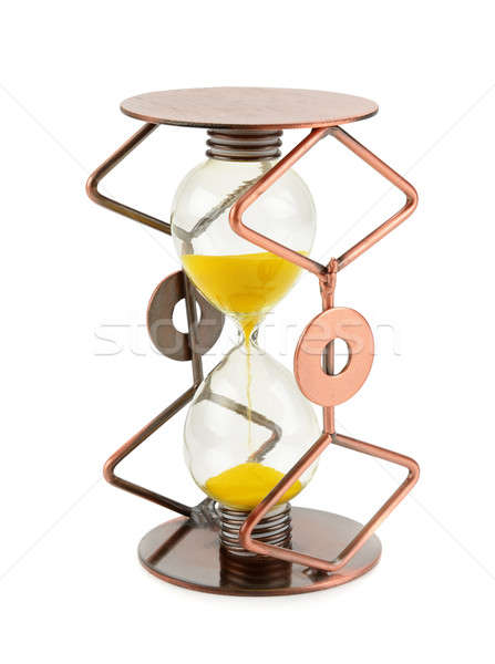 hourglass isolated on white background Stock photo © alinamd