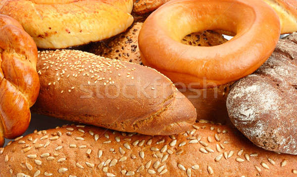 background baked goods and pastry products Stock photo © alinamd
