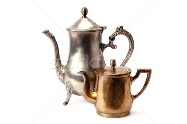 old coffee pot Stock photo © alinamd
