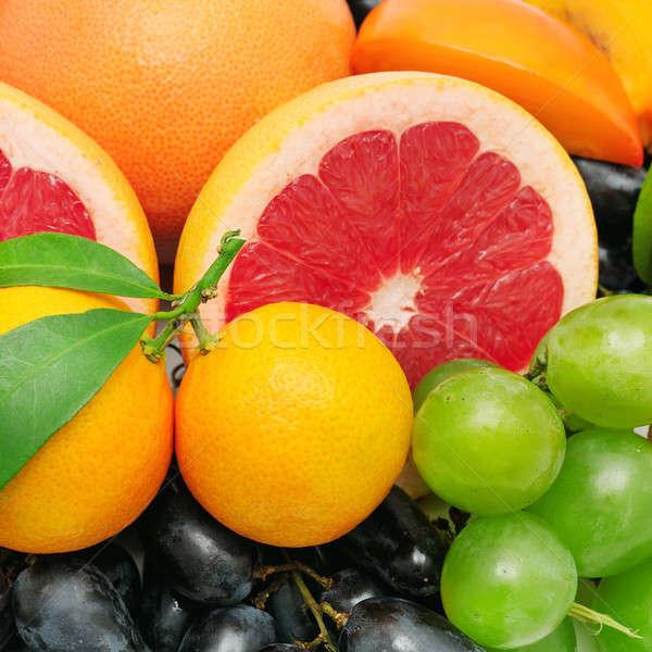 fruit background Stock photo © alinamd