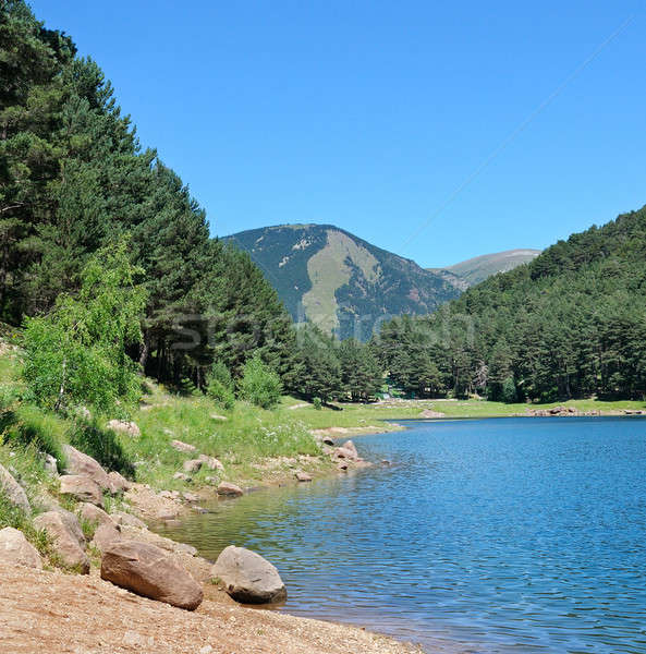 mountain lake in the Pyrenees (Andorra) Stock photo © alinamd