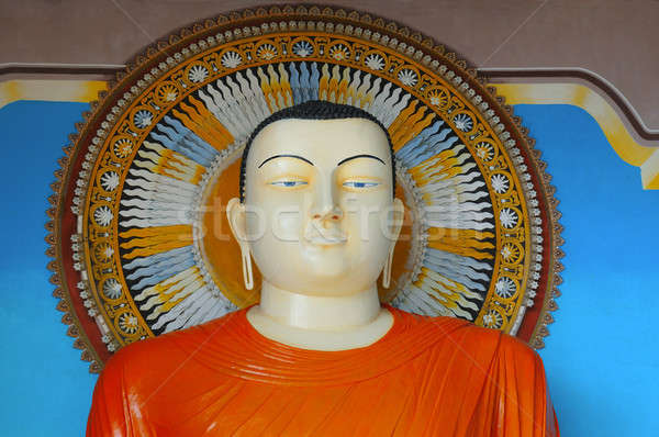 Buddha statue at the temple Stock photo © alinamd