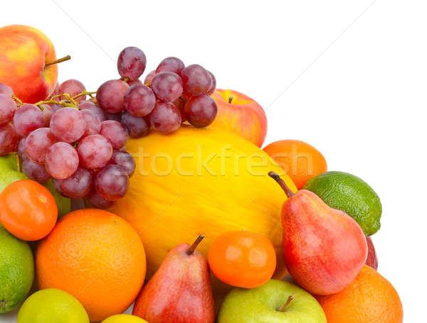 Gyümölcs bogyók izolált fehér háttér gyümölcsök Stock fotó © alinamd