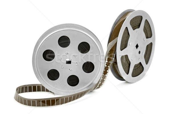 Bande de film isolé blanche film cadre film Photo stock © alinamd