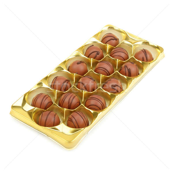 box of chocolates Stock photo © alinamd