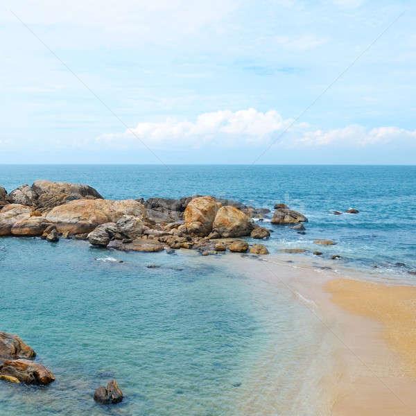 coast of the Indian Ocean Stock photo © alinamd