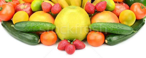 vegetables and fruits Stock photo © alinamd