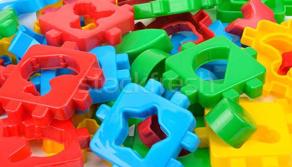 Farbenreich Designer Kinder Kind Design Modell Stock foto © alinamd