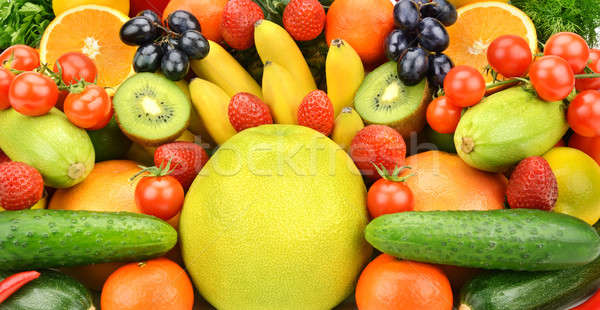 composition of fruits and vegetables Stock photo © alinamd