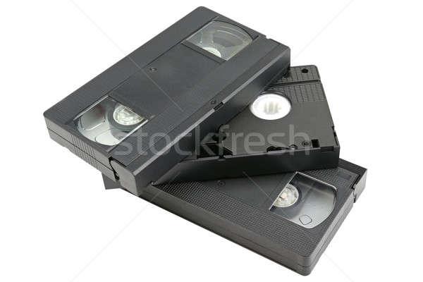 video cassettes Stock photo © alinamd