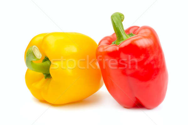 bell peppers isolated on white background Stock photo © alinamd