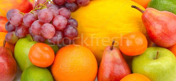 set of fruits and berries Stock photo © alinamd
