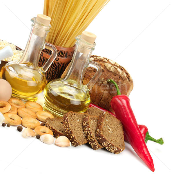 collection of natural products Stock photo © alinamd