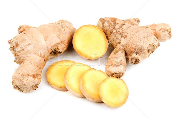 ginger root isolated on white background Stock photo © alinamd