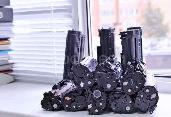 принтер подоконник служба пусто отходов Сток-фото © AlisLuch