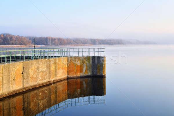 Dam reservoir Stock photo © AlisLuch