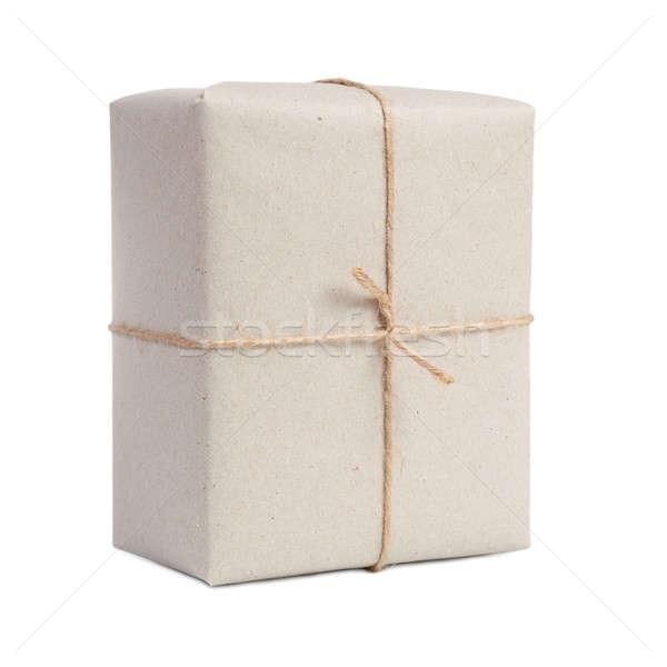 Stok fotoğraf: Yalıtılmış · beyaz · teslim · paket · karton · dizi