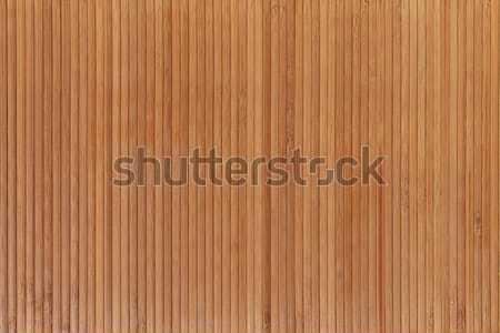 Bambou léger serviette mur étage usine Photo stock © All32