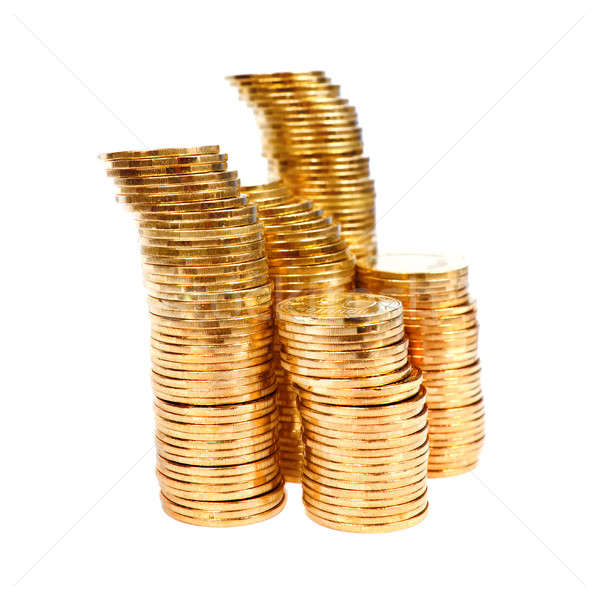 Piles of coins. Stock photo © All32