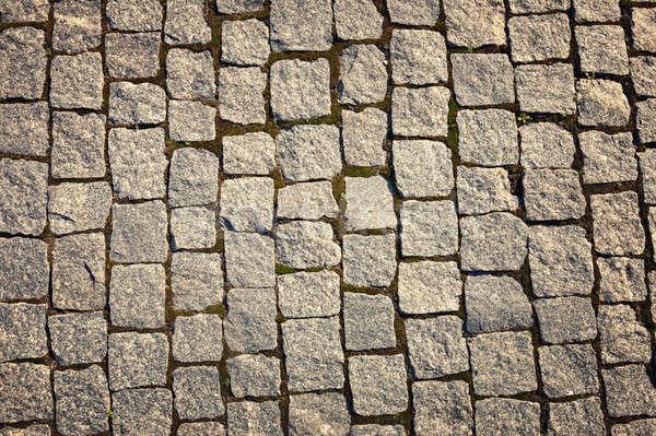Estrada superfície parede fundo rocha piso Foto stock © All32