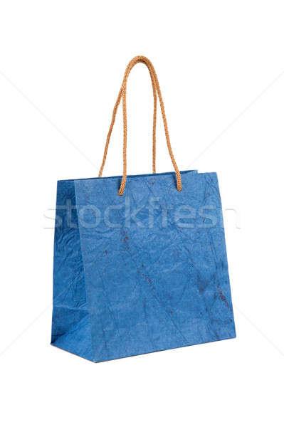 Papírzacskó izolált fehér papír táska piac Stock fotó © All32
