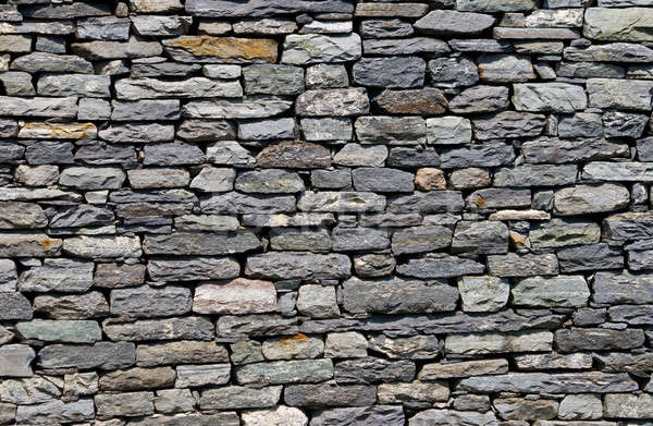Wall built of natural stone. Can be used as background  Stock photo © All32