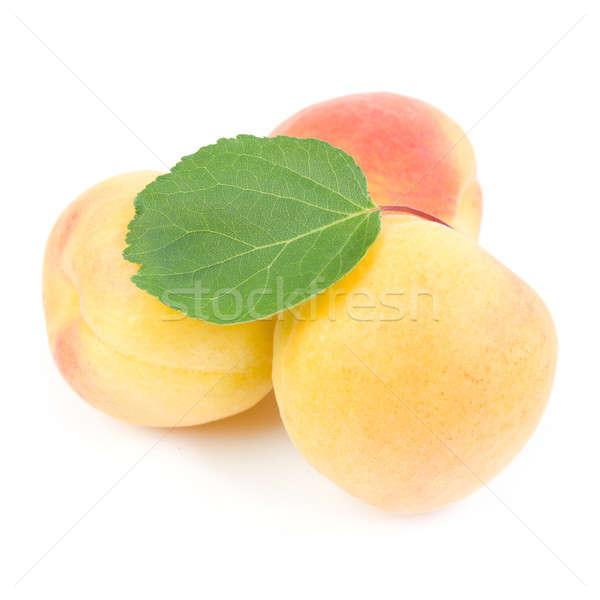 Izolált fehér étel gyümölcs egészség narancs Stock fotó © All32