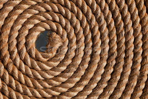 Rope folded helix Stock photo © All32