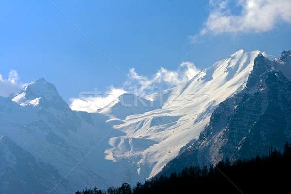 Tibetan mountains, Nepal, Annapurna trek. Stock photo © All32